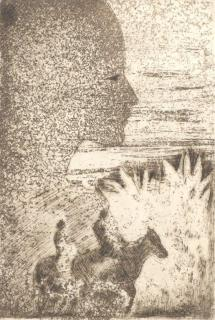 Acid Blue - Texte d'André Goezu – A Jacques Gorus 1 gravure à l'aquatinte - 45 exemplaires, Edition Kunstkring J. Gorus – Antwerpen