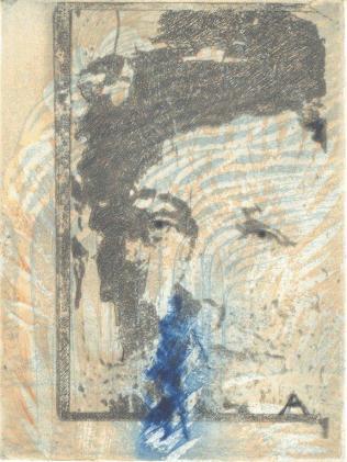 Arthur Rimbaud - 'Voyelles' Préfaces  Alain Tourneux et Frans Boenders,  5 aquatintes – 50 exemplaires, Edition Musée Charleville-Mézières -France