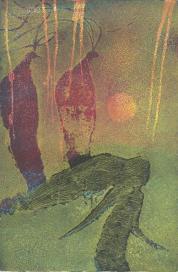 Sphinge - Poème d'Emile Verhaeren, Ward Ruyslinck 6 aquatintes – 60 exemplairen, Edition Zwarte Panter – Antwerpen