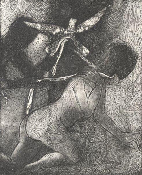Leguit - Poème de Bert Verhoye – Gravures de Wilfried