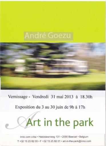 Invitation Art in Park