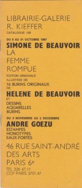 """Edition illustrée de """"La Femme rompue"""" de Simone de Beauvoir"""